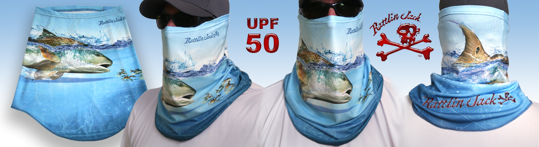 Rattlin Jack Redfish Comfort Fit Sun Mask