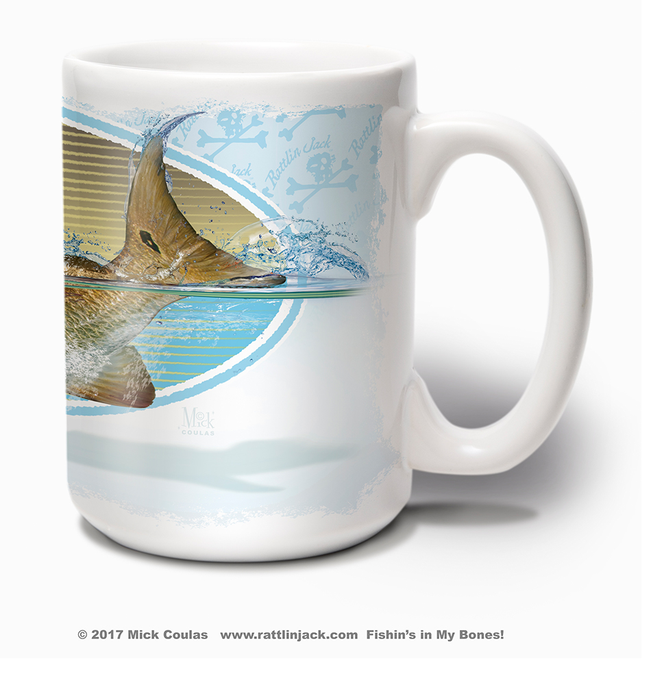 Mugs289.MUG.Redfish.Oval.RT.W