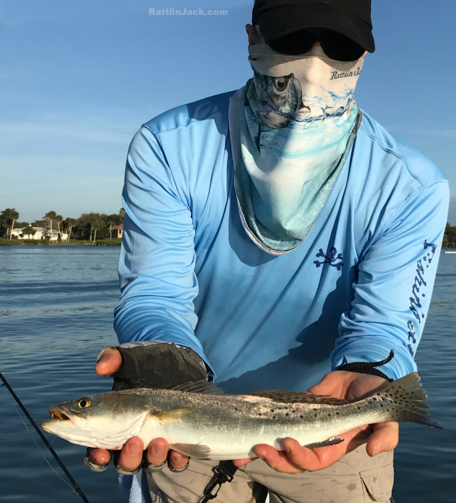 Long sleeve sun protection shirts - Tarpon Sun Mask by Rattlin Jack