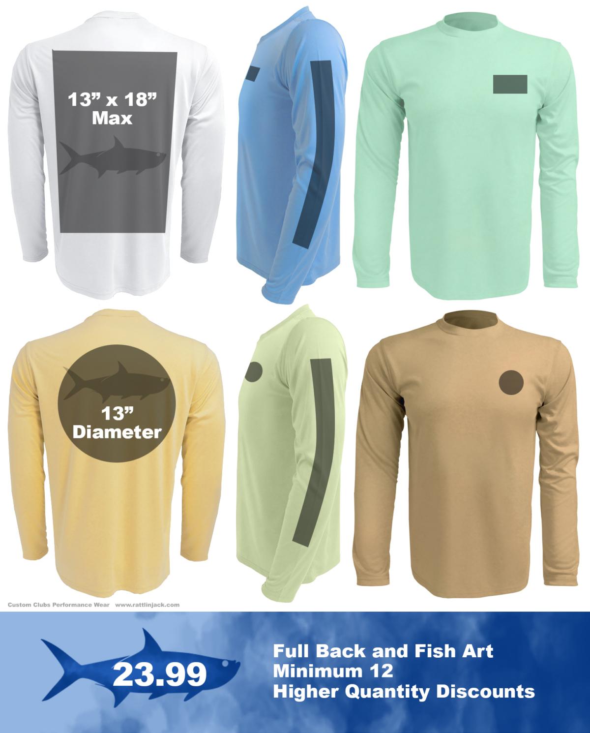 Half-back-custom-upf-fishing-shirts from Rattlin Jack