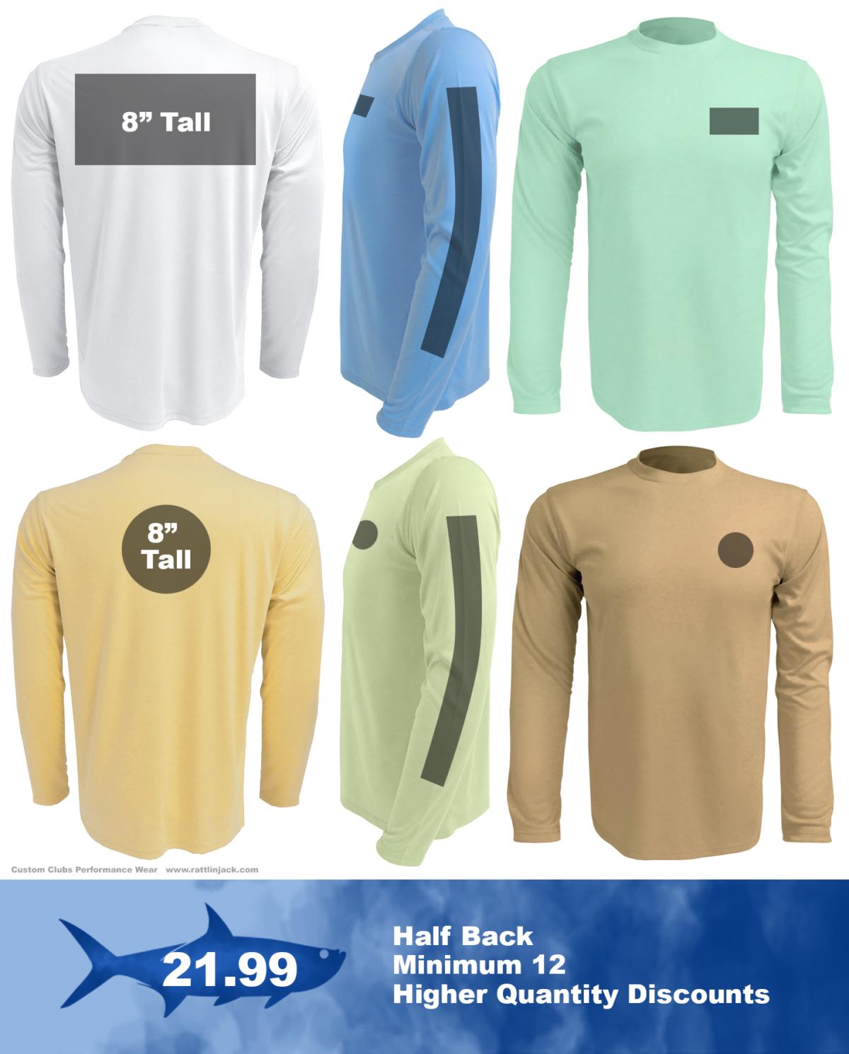 Full-back-custom-upf-fishing-shirts from Rattlin Jack