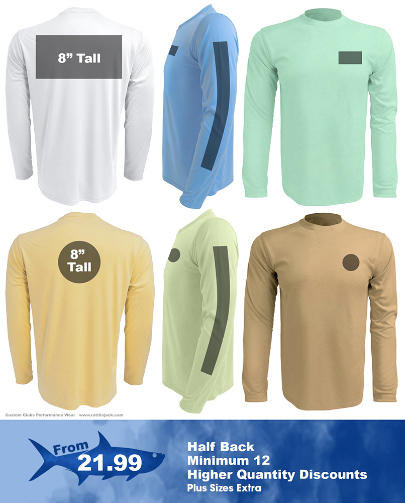 Full-back-custom-upf-fishing-shirts from Rattlin Jack