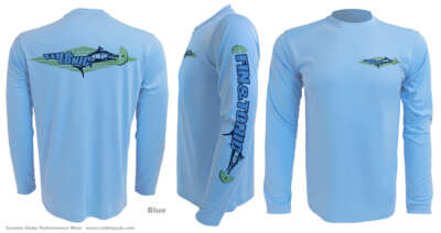custom-Upf-fishing-shirts-fin-n-tonic-marlin-lime-blue