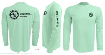 custom-Upf-fishing-shirts-sparks-turf-teal-half-back