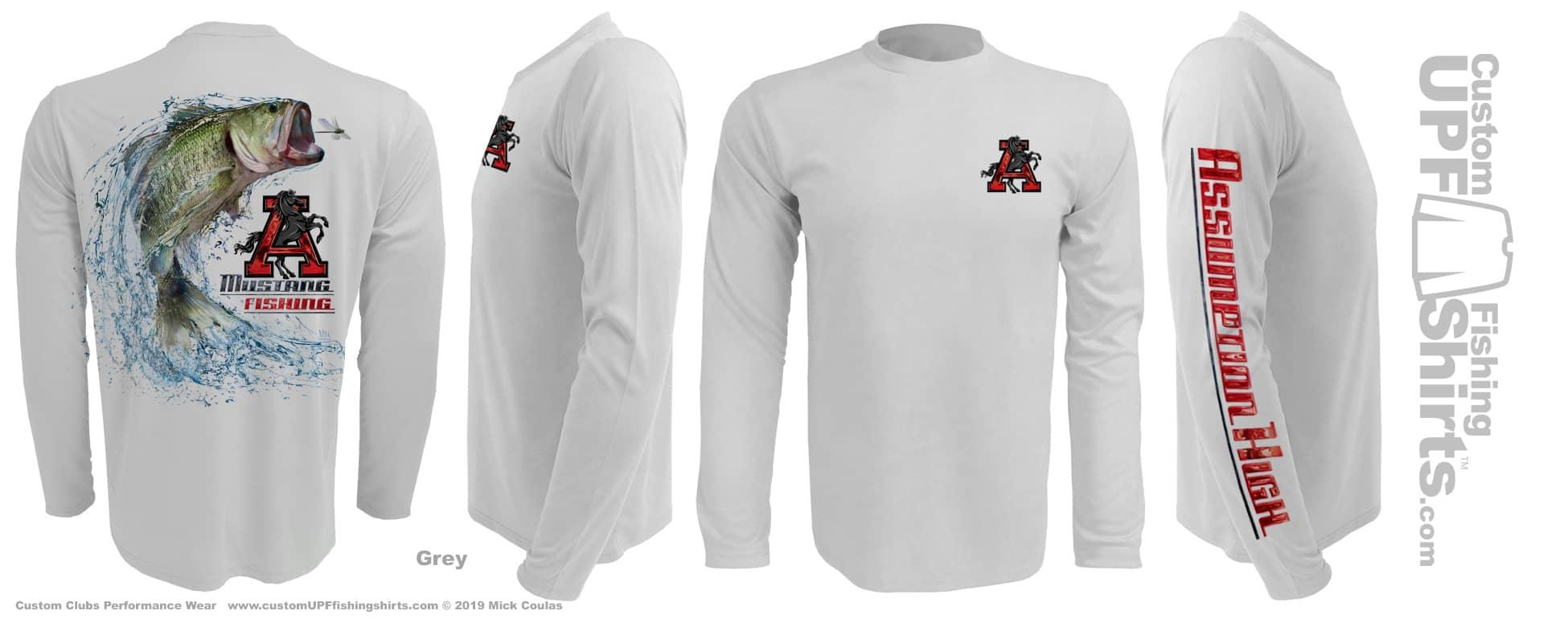 Custom-UPF-Fishing-Club-Shirts-Assumption-grey